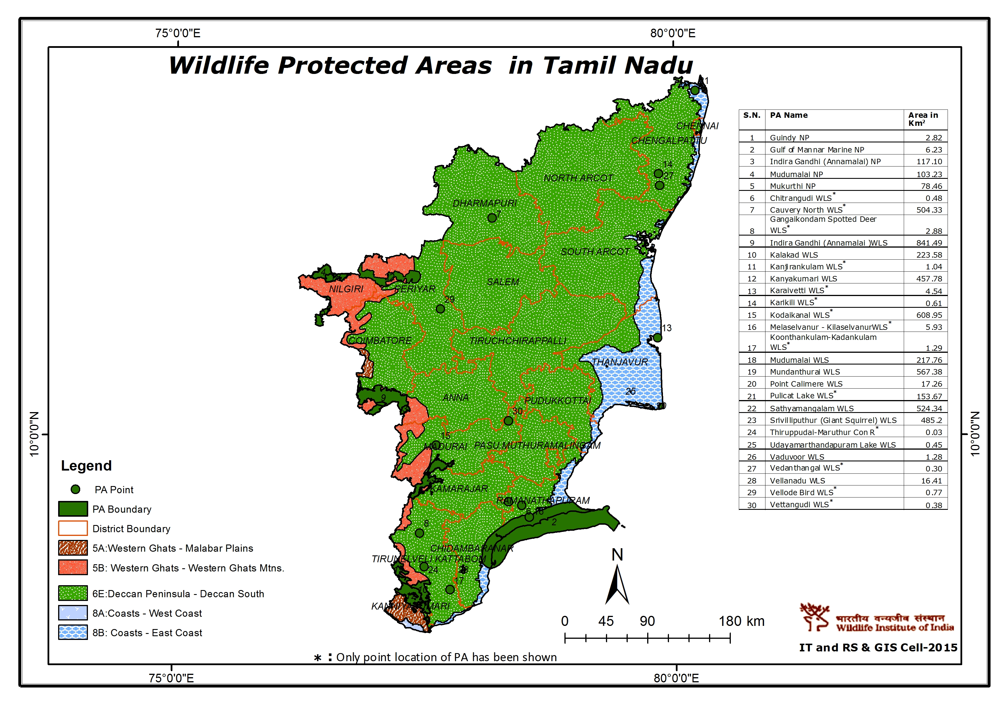 Maps of protected areas in india 32 gumiabroncs Choice Image