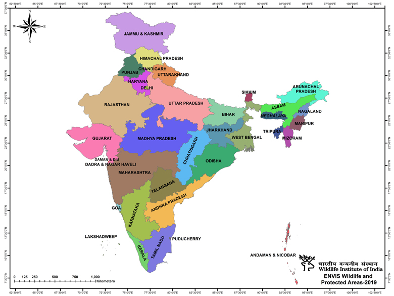 all state map of india pdf Maps Of Protected Areas In India all state map of india pdf
